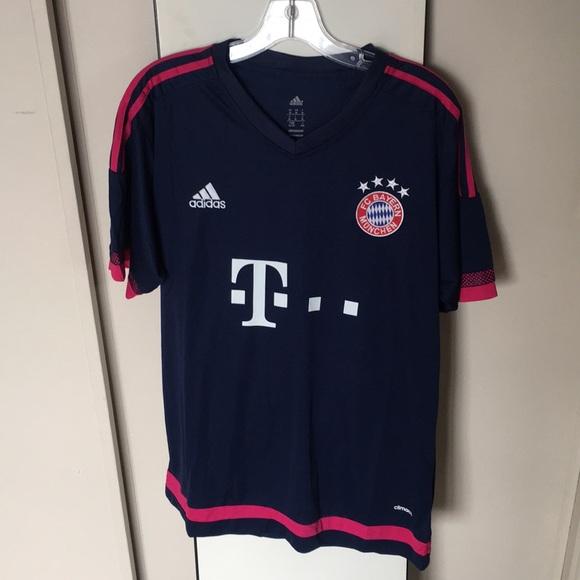 wholesale dealer 52af7 96bb3 Bayern Munchen Adidas Jersey